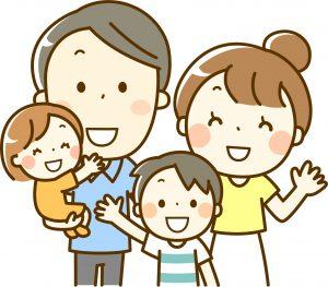骨盤矯正を受けることで家族全員がハッピーになります。