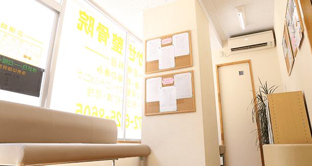 待合室の風景